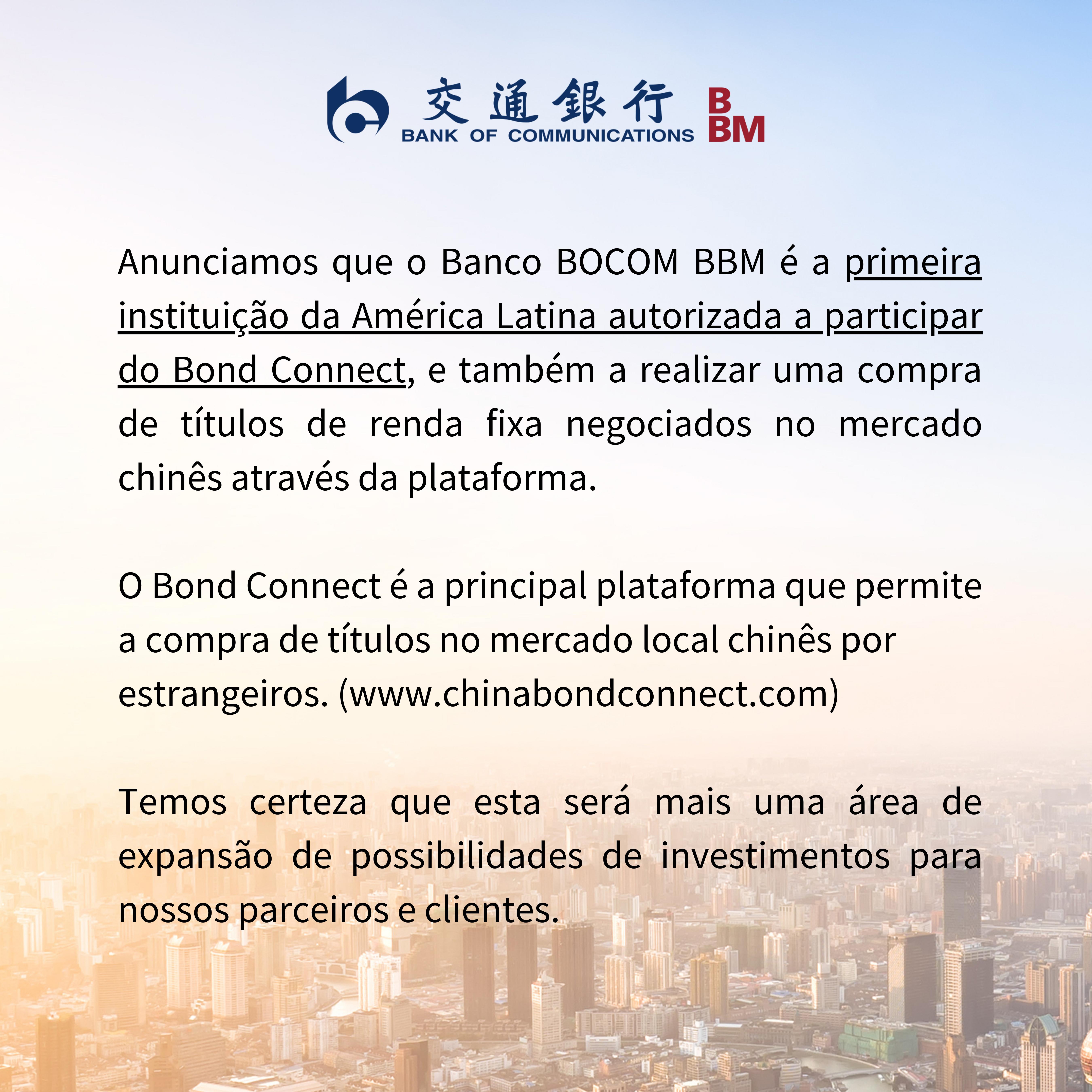 Bond connect home do site